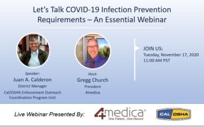 Let's Talk COVID-19 Infection Prevention Requirements – An Essential Webinar